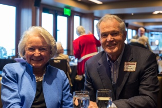 Nancy and Dick Knowlton at the 2013 Hall of Fame event, held at Mt. Vernon Country Club October 17th. Photo by Matthew Lewis.