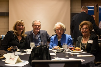 Olinger family members Kathy Scaggs, Dick Knowlton, Nancy Knowlton, and Valerie Horan at Mt. Vernon Country Club October 17th. Photo by Matthew Lewis.