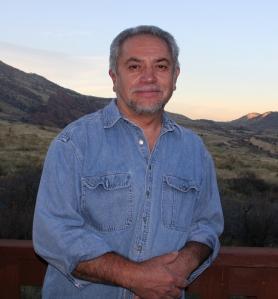 Emanuel Martinez at his studio near Morrison.