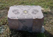 Marine 4th Division Monument at Marine Corps Memorial.