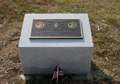 Marine 2nd Division Monument at Marine Corps Memorial.