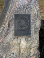 Monument to Women Marines at Marine Corps Memorial.
