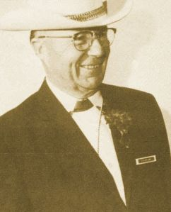 Elmer Wyland, founder of Westernaires and Hall of Fame honoree.