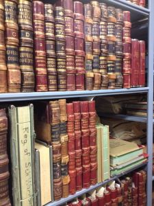 A variety of records are housed in the county archives.
