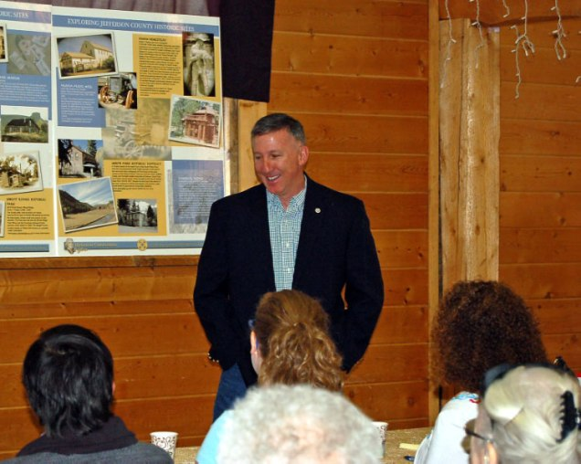 Jefferson County County Manager Donald Davis