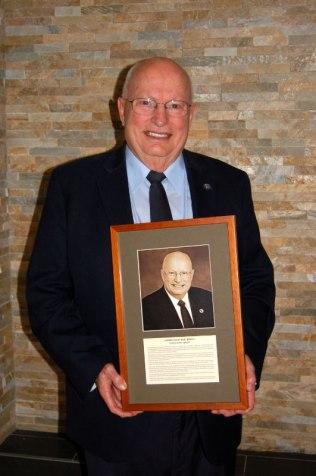 2017 Hall of Fame recipient Bob Briggs, of Westminster.
